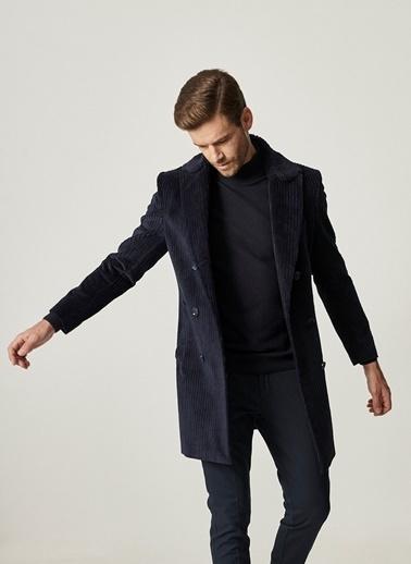 Altınyıldız Classics yıldız Classics Standart Fit Klasik Kışlık Palto Lacivert